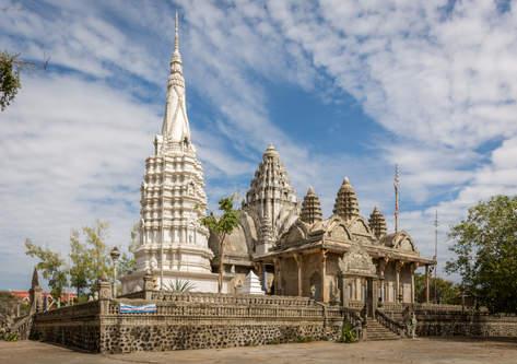 Świątynia na wzgórzu Phnom Pros, Kampong Cham