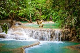 Wodospady Kuang Si, Luangprabang