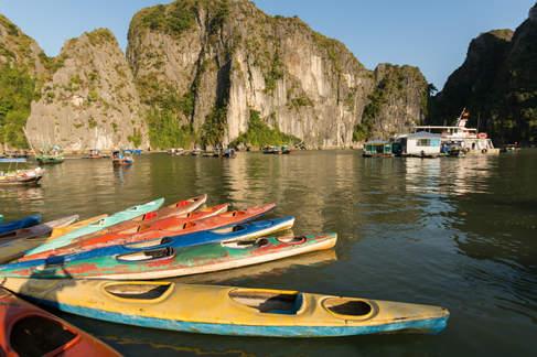 Wypożyczalnia kajaków, Ha Long