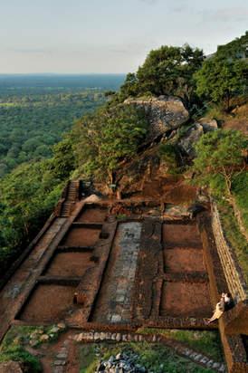 Ruiny fortecy Sigiriya