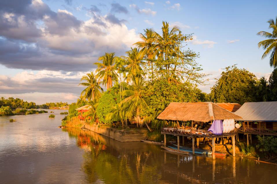 Wyspa Don Khon, Laos