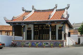 Świątynia w chinatown, Melaka