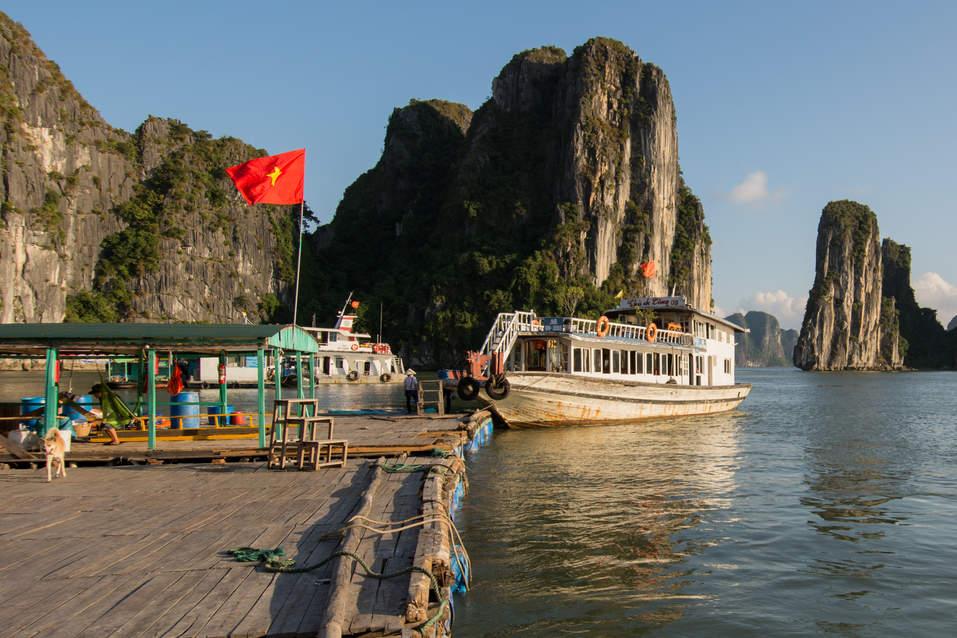 Przystań dla łodzi, Ha Long