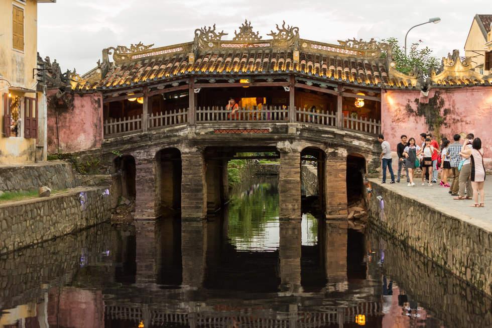 Japoński Most, Hoi An, Wietnam