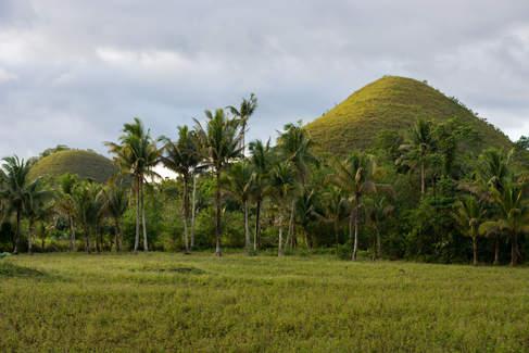 Chocolate Hills, Bohol, Filipiny