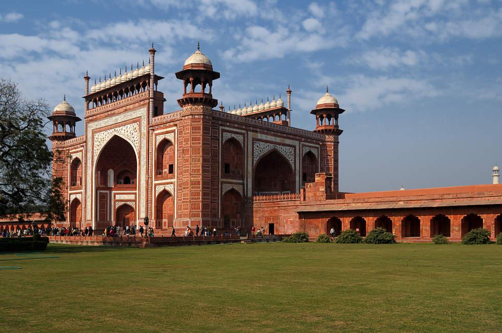 Brama do Taj Mahal