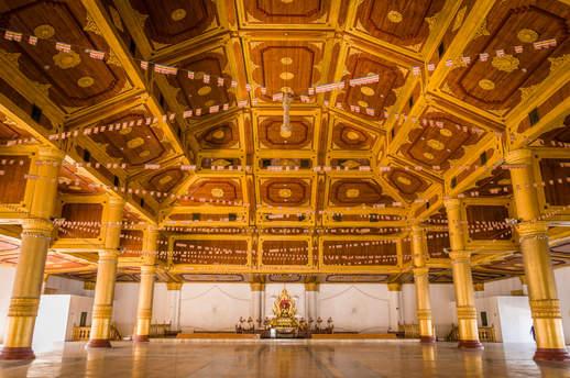 Klasztor Atumashi, Mandalay, Myanmar
