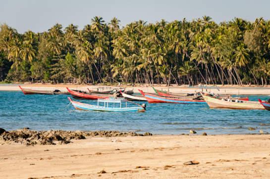 Plaża Ngapali, Birma