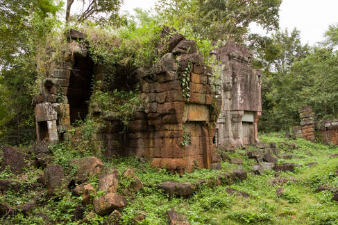 Świątynia Kat Kdei, kompleks Preah Khan Kampong Svay. Fotografia Maciej Rutkowski