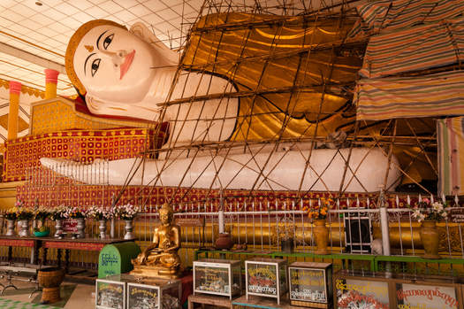 Leżący Budda, Shwethalyaung Buddha