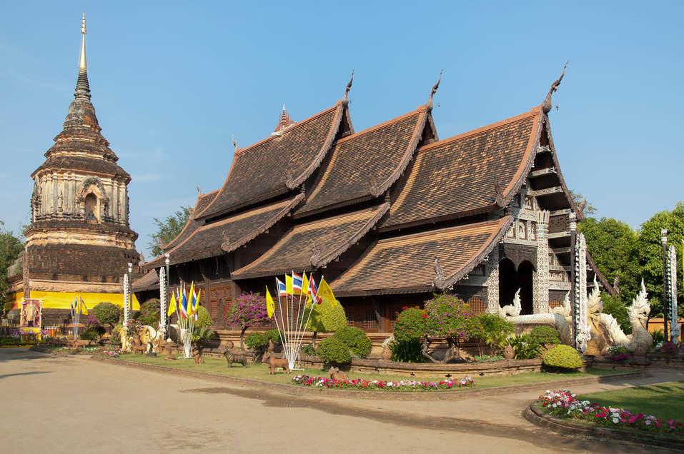 Świątynia Wat Lok Moli, Chiang Mai