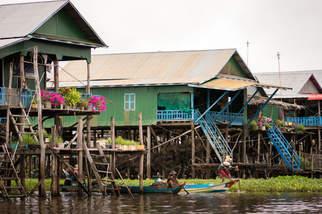 Kampong Phluk, Tonle Sap, Kambodża. Fotografia Maciej Rutkowski