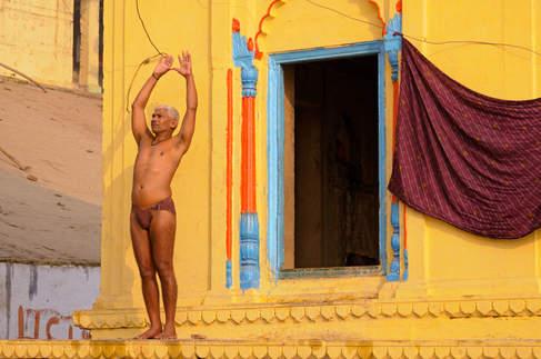 Jogin w Waranasi