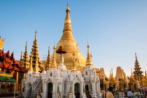 Stupa Shwedagon, Yangon (Rangun)