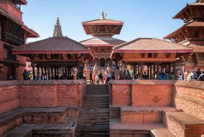 Zabytki Patanu, Nepal