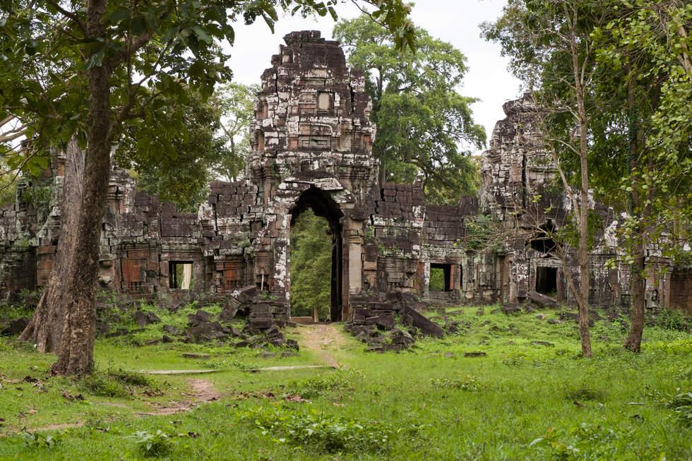 Brama Preah Khan Kampong Svay. Fotografia Maciej Rutkowski