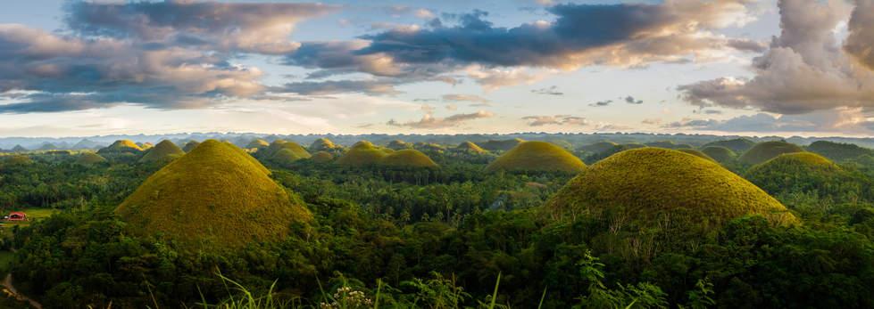 Czekoladowe Wzgórza, Bohol