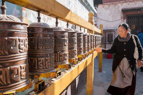 Młynki modlitewne, Kathmandu