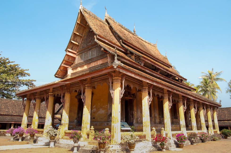 Świątynia Wat Si Saket, Wientian