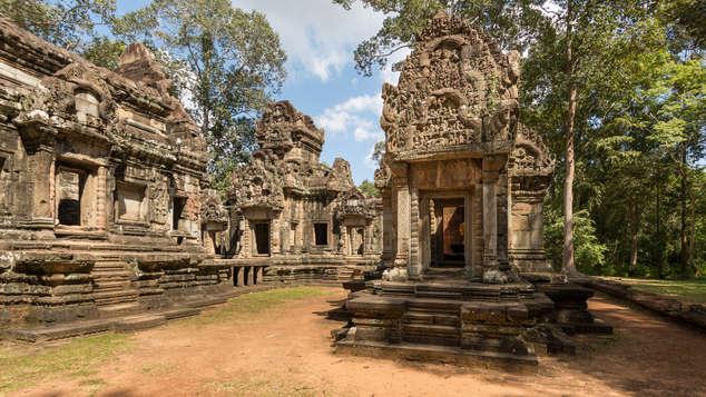 Świątynia Chao Say Tevoda, Angkor, Kambodża. Fotografia Maciej Rutkowski