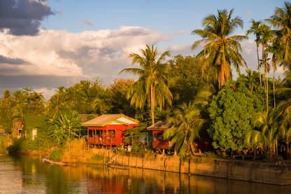 Bungalow nad Mekongiem, Don Khon