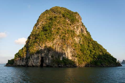 Wysepka na Ha Long