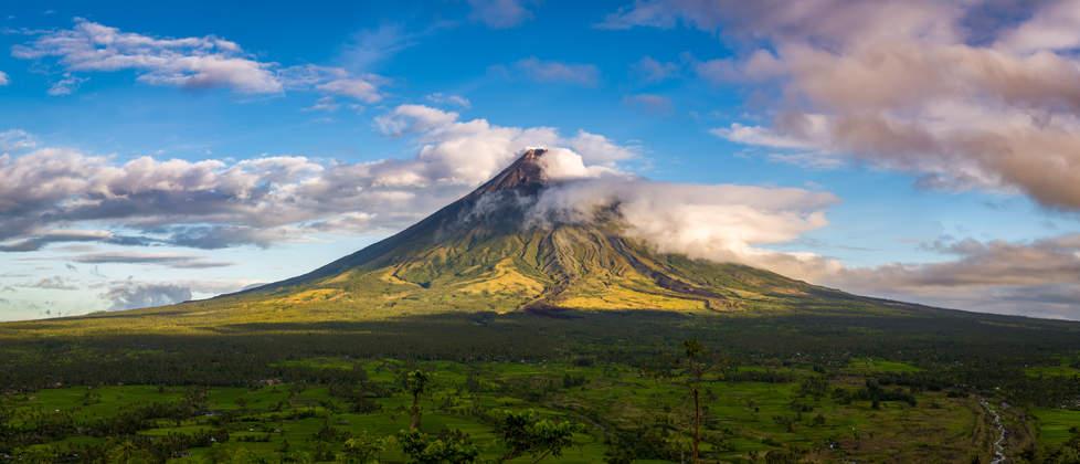 Wulkan Mayon, Filipiny