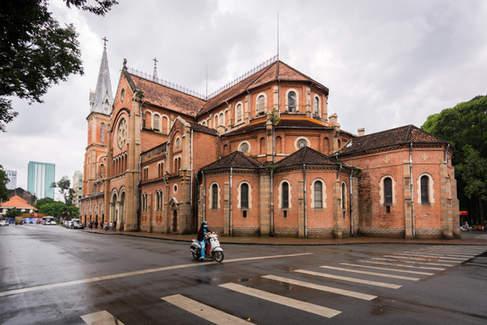 Katedra w Ho Chi Minh City