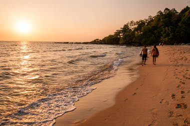 Plaża Otres, Sihanoukville, Kambodża. Fotografia Maciej Rutkowski