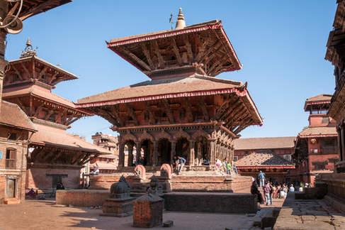 Świątynia, Patan, Nepal
