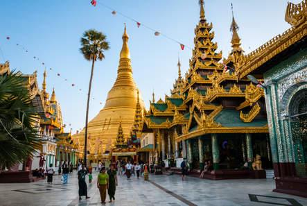 Sanktuarium Shwedagon, Yangon