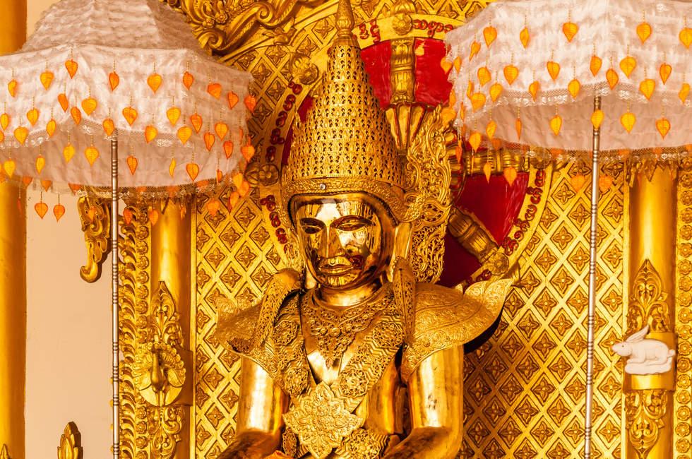Złoty Budda, Yangon