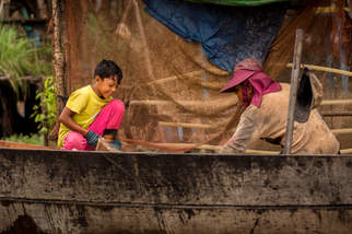 Przegląd sieci, Tonle Sap, Kambodża
