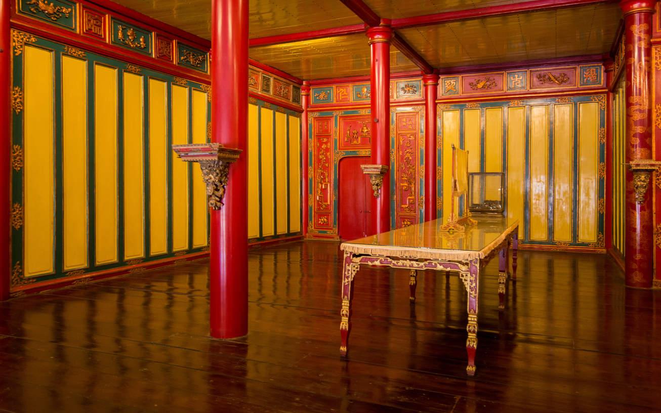 Pawilon w zakazanym mieście w Hue