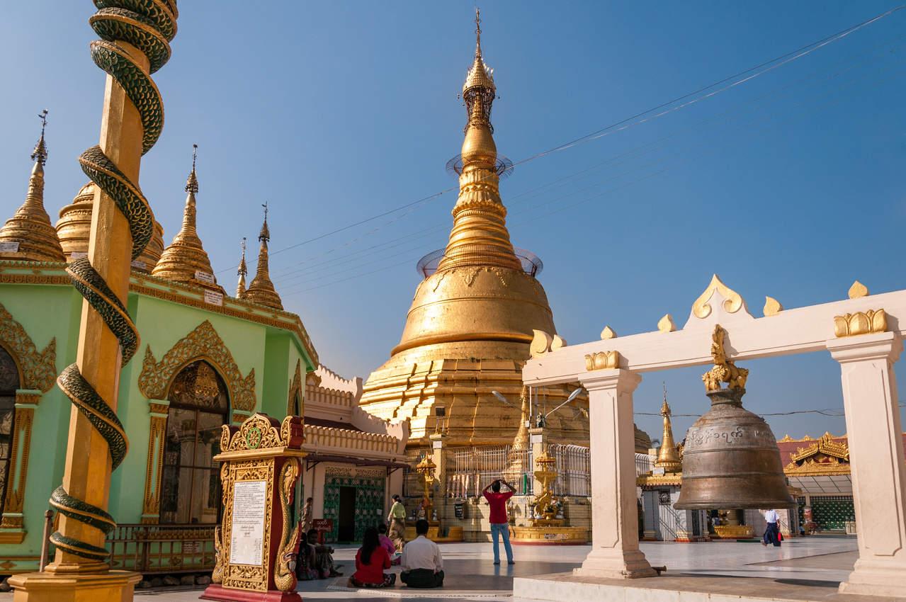 Botataung Pagoda, Yangon (Rangun)