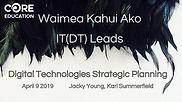 Waimea Kahui Ako DT Leaders - Hui 1 - Ap