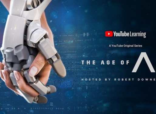 Novo seriado sobre Inteligência Artificial - The Age of A.I.""