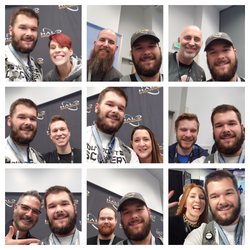 Outpost Discovery Selfie Collage