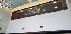 343 Logo On Glass