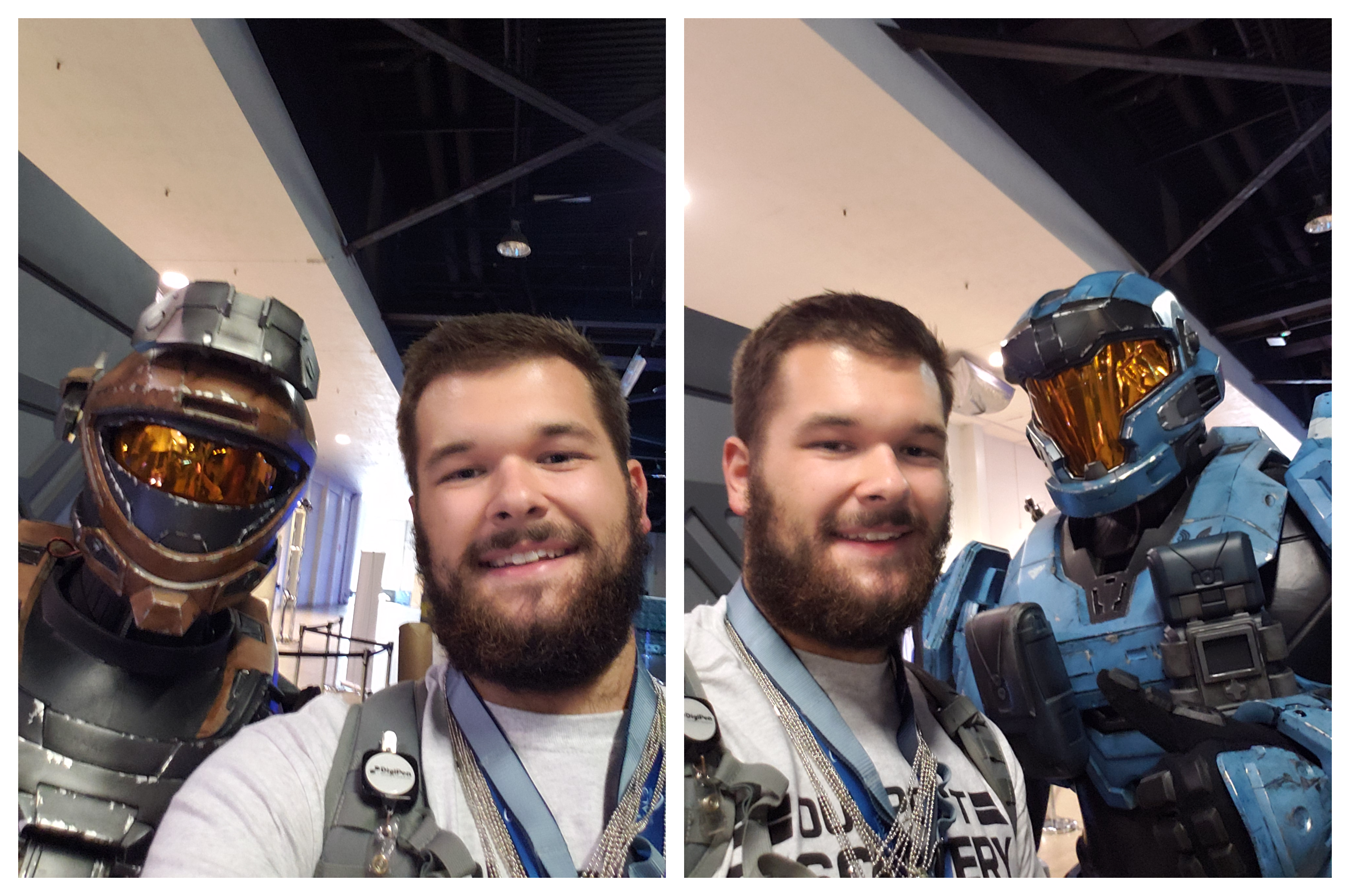 Outpost Discovery Spartan Selfies