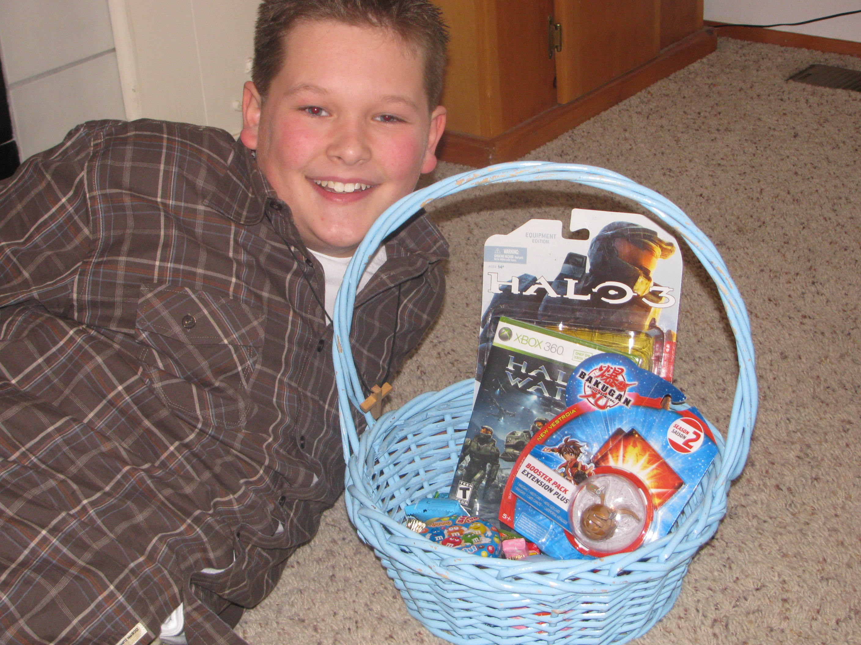 Halo Easter Basket
