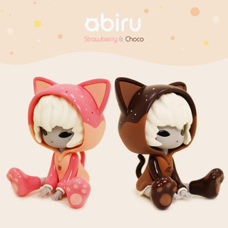 Sitting abiru(strawberry&choco)