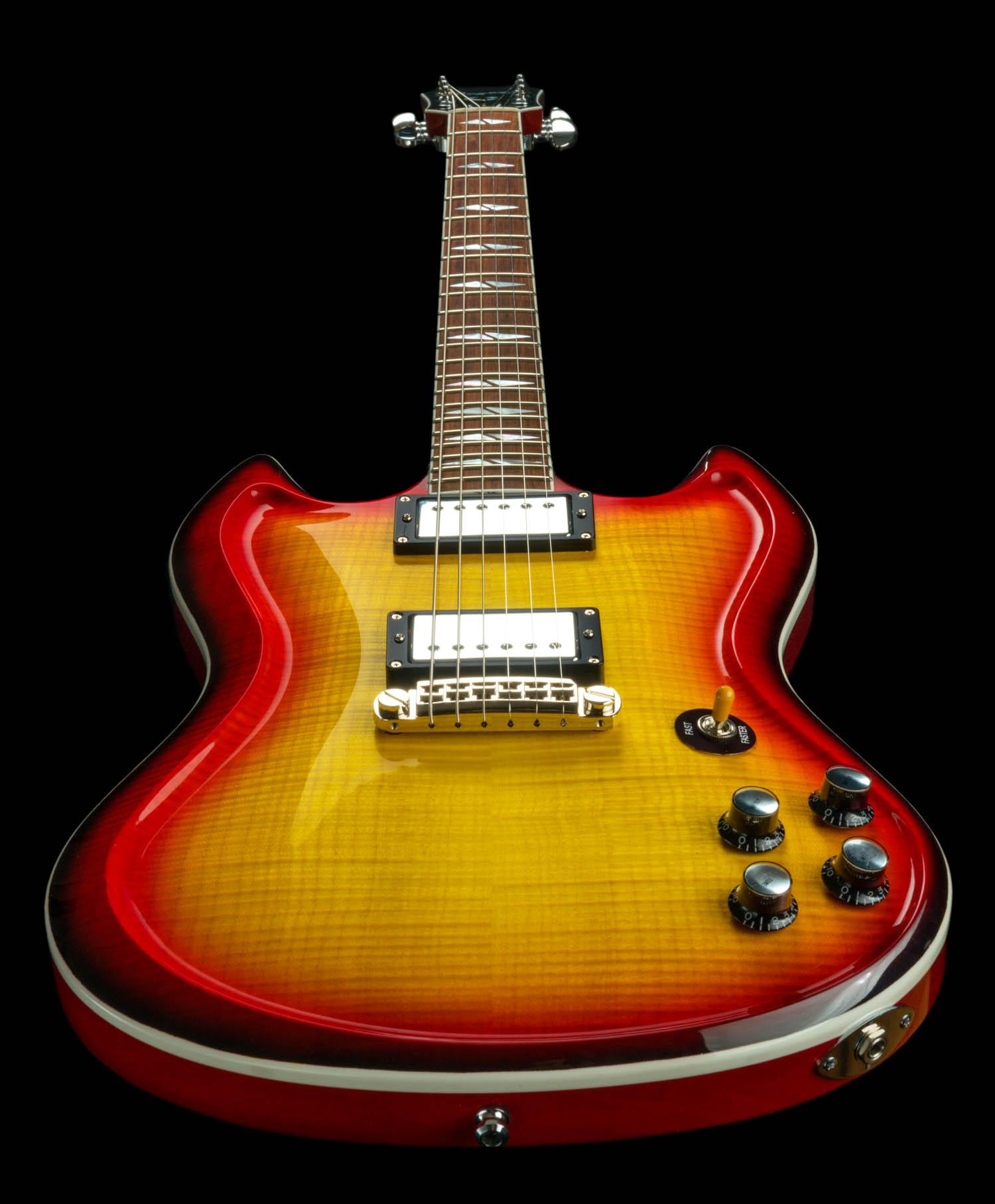 Ombre Guitar