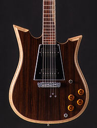 ZC Brown Wooden Guitar