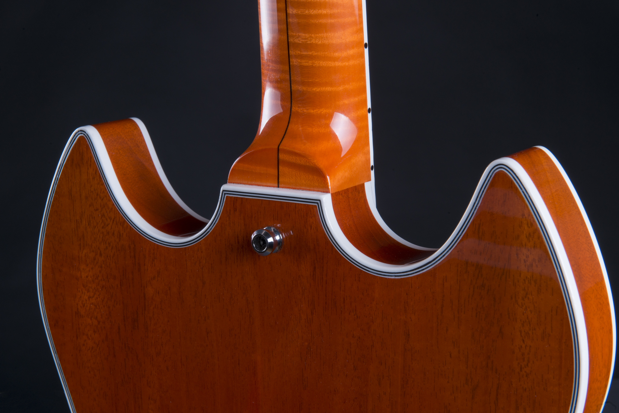 Back of the guitar