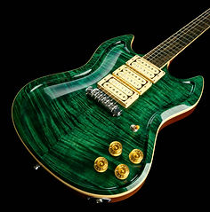 YG Carved Green Flame 2