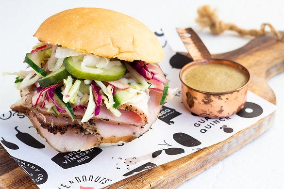 smoked barbecue bbq turkey sandwich