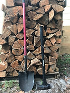 Oak shovel maul bbq barbecue oak