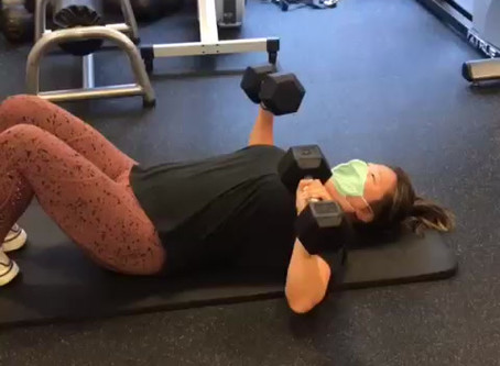 Charrisa's Upper Body Workout (Part 2)