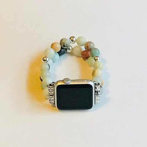 Amazonite Apple Watch Band